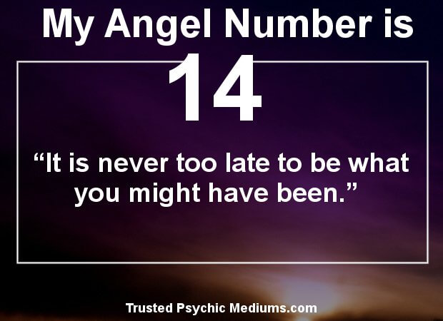 meaning of angel number 14