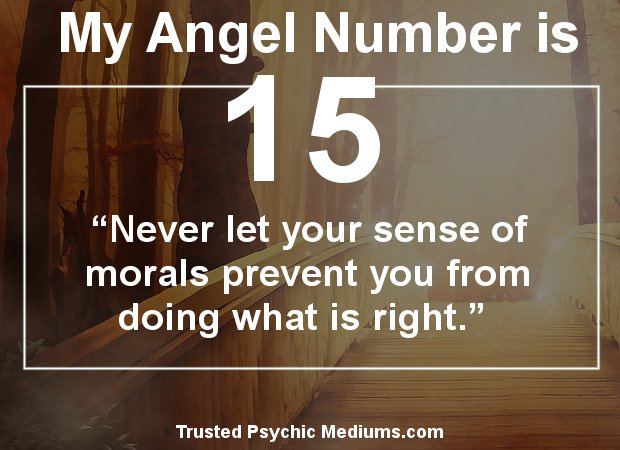 angel number 15 meaning