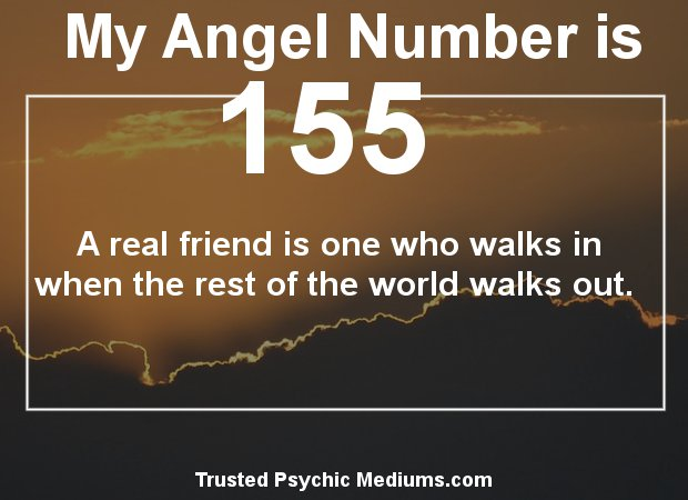 keep seeing angel number 155