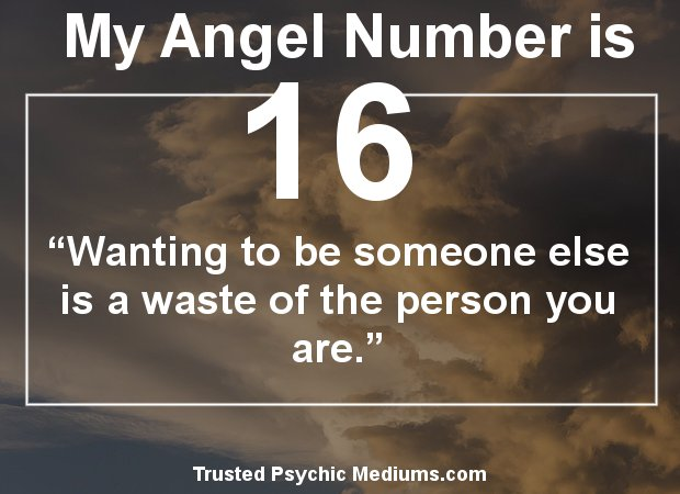 angel number 16 meaning
