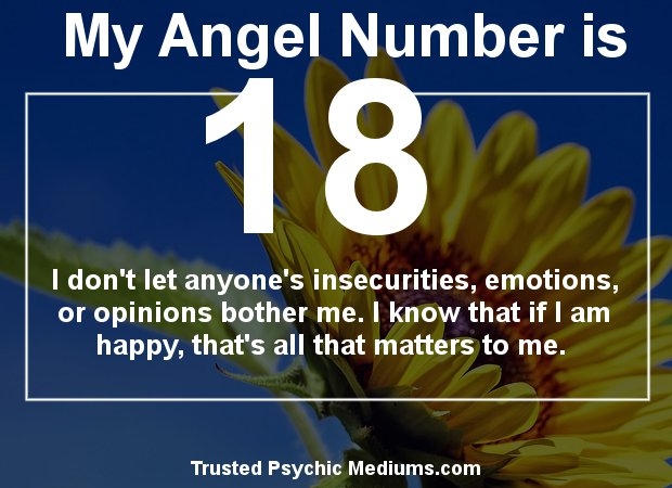 Angel Number 18 and its Meaning