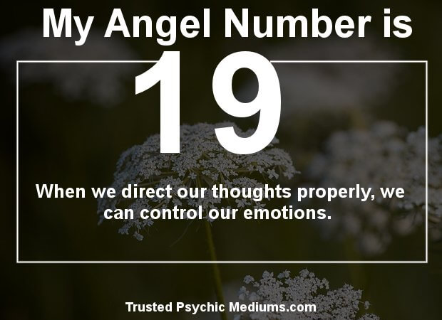 Angel Number 19 and its Meaning