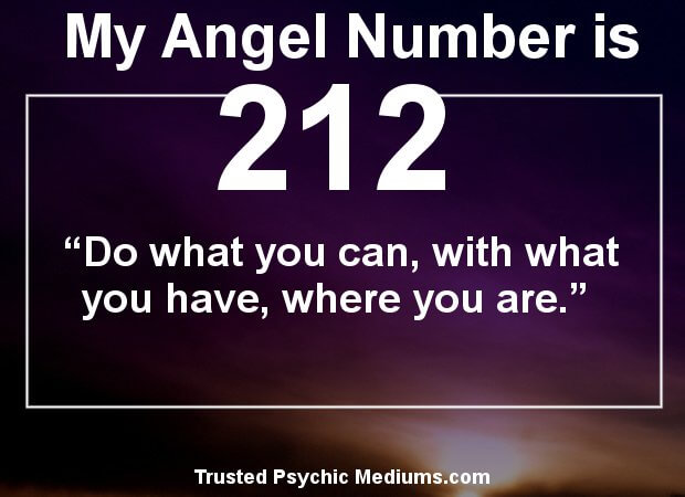 angel numbers 212