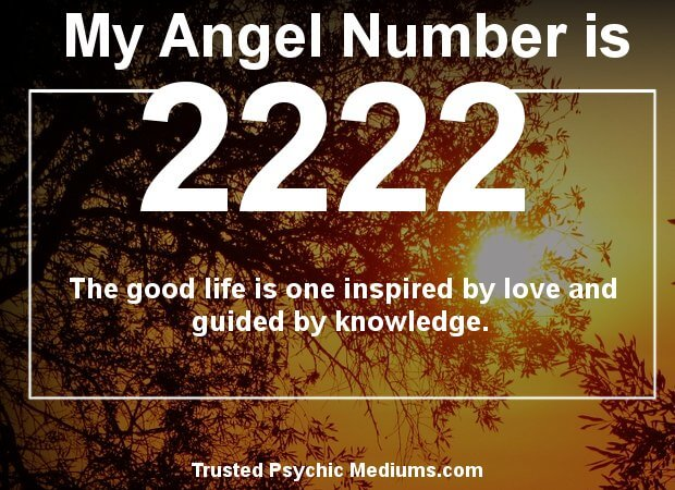 angel numbers 2222
