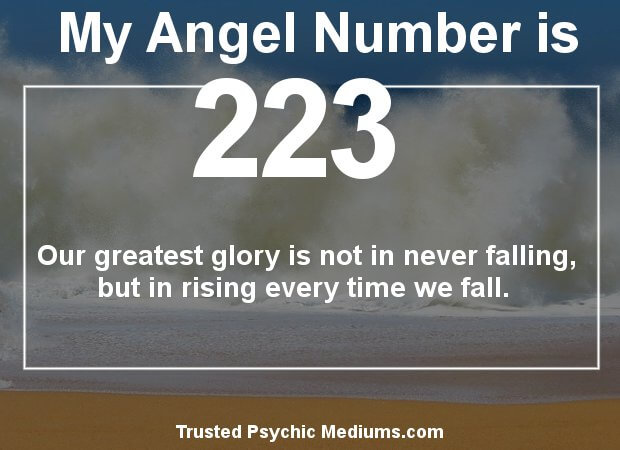 Angel Number 223 and its Meaning