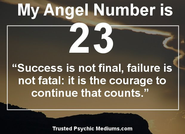 angel numbers 23