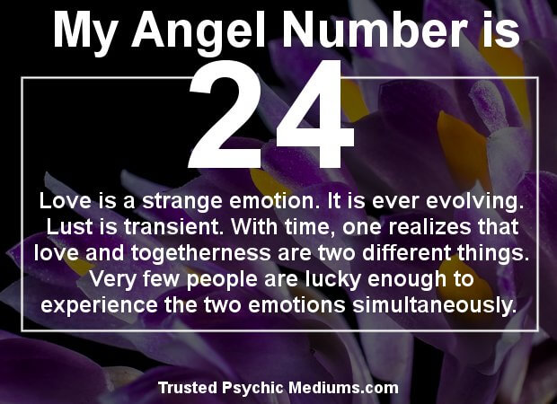 the meaning of number 24
