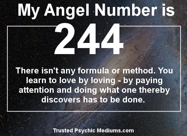 angel numbers 244
