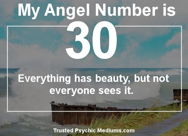 the meaning of number 30
