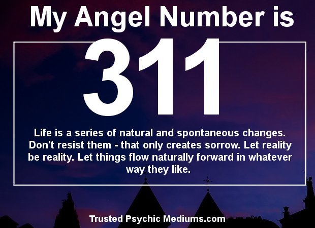 angel numbers 311