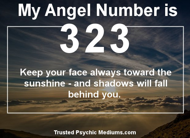 Angel Number 323 and its Meaning