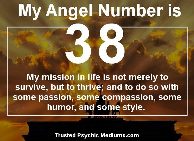 angel number 38