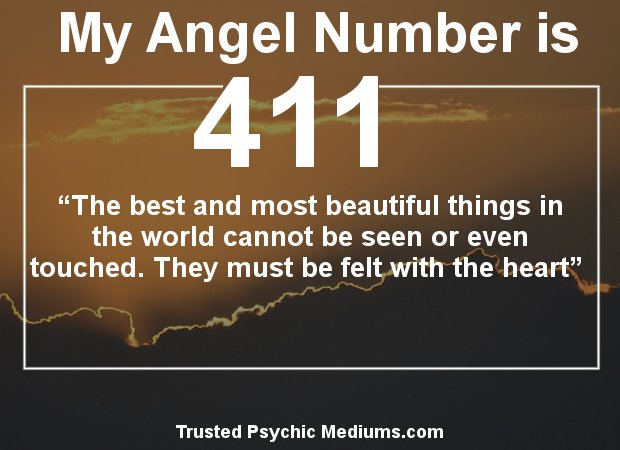 The meaning of numbers 411