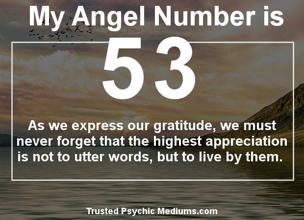 the meaning of number 53