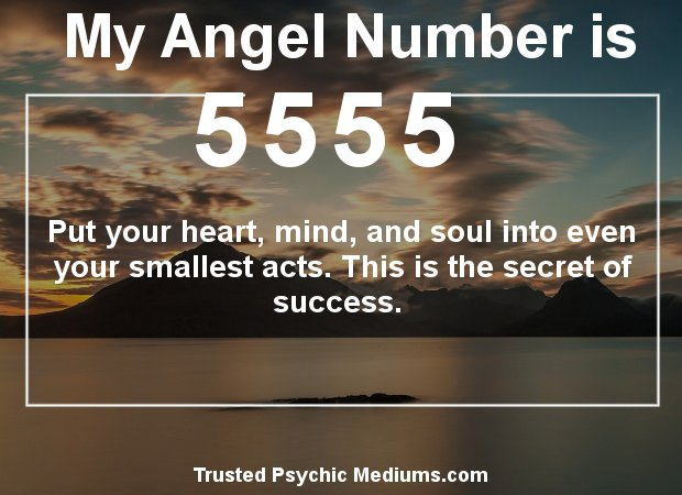 angel numbers 5555
