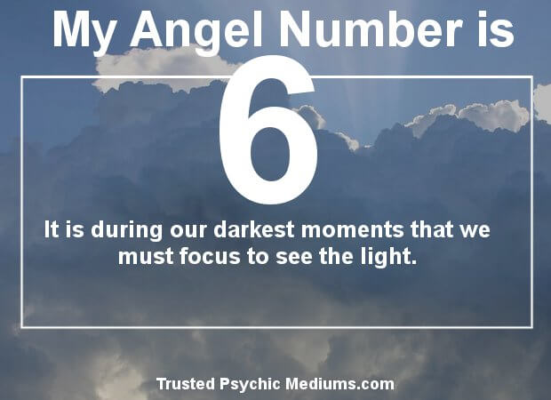trust in angel number 6