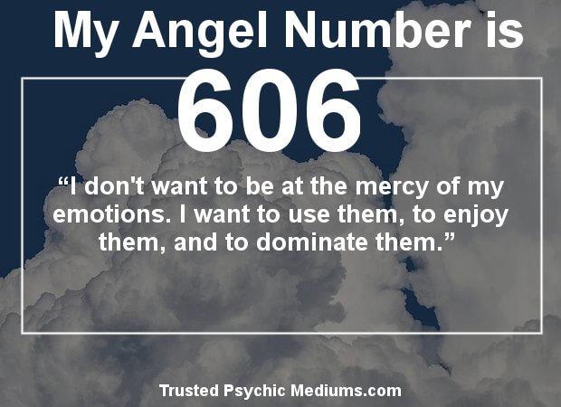 Angel Numbers 606