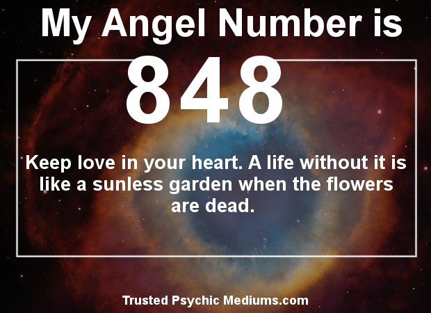Angel Number 848 and its Meaning