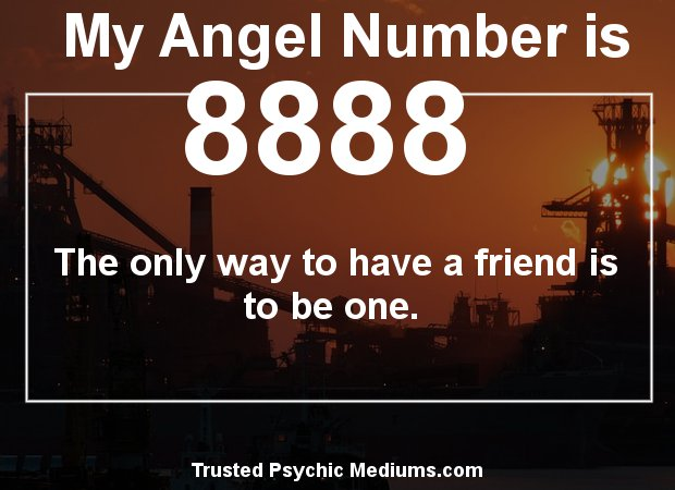 special numbers 8888