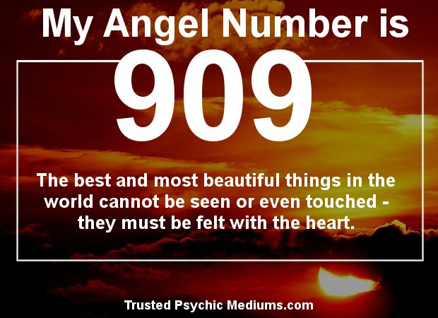 meaning of angel numbers 909