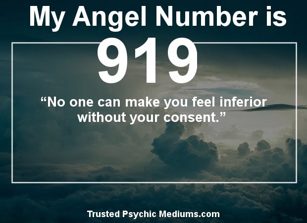 angel numbers 919