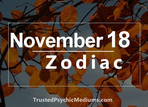 November 18 Zodiac