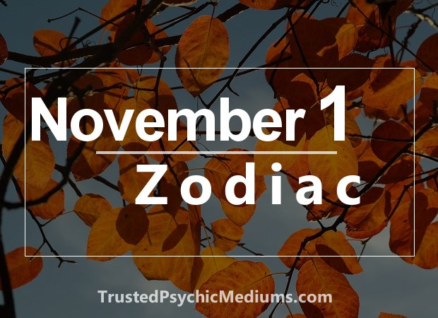 November 1 Zodiac