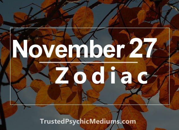 November 27 Zodiac