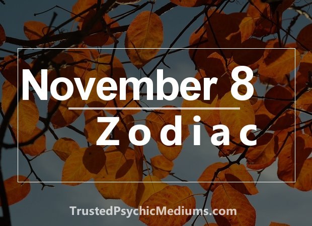 November 8 Zodiac