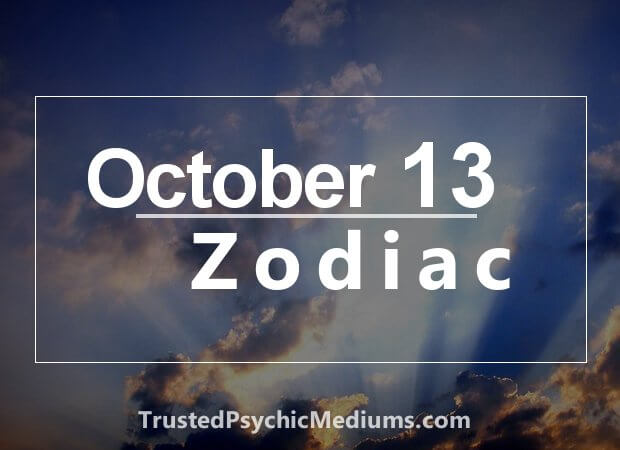 October 13 Zodiac