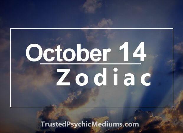 October 14 Zodiac