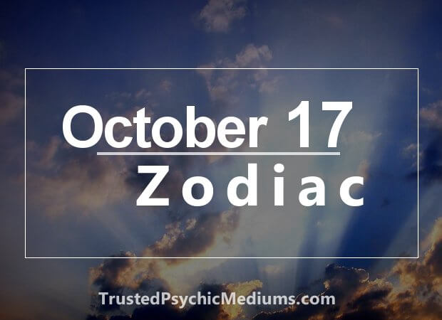 October 17 Zodiac