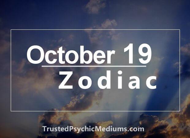 October 19 Zodiac