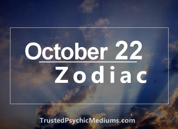 October 22 Zodiac