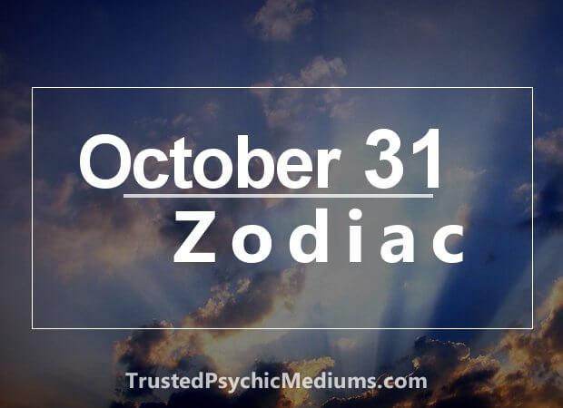 October 31 Zodiac