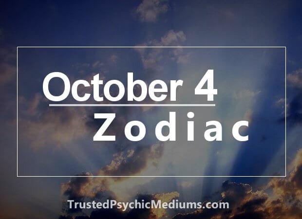 October 4 Zodiac
