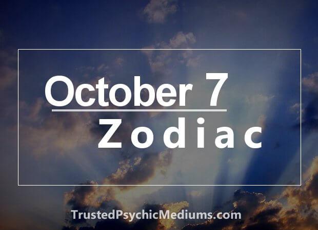 October 7 Zodiac