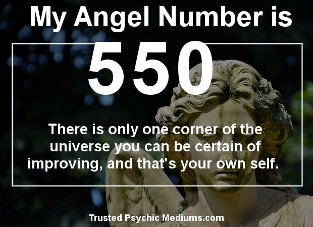 550 angel number