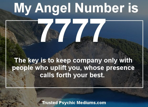 keep seeing angel numbers 7777