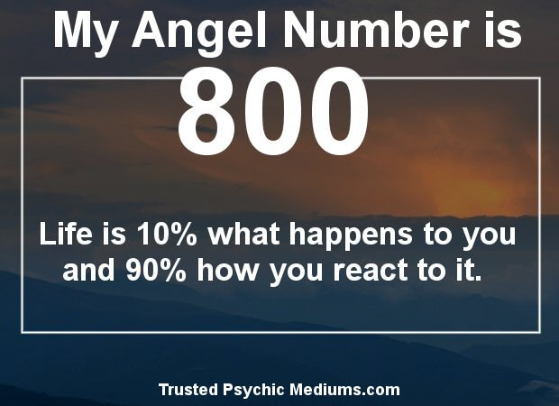 the meaning of angel number 800