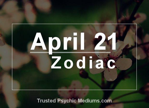 April 21 Zodiac