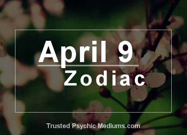 April 9 Zodiac