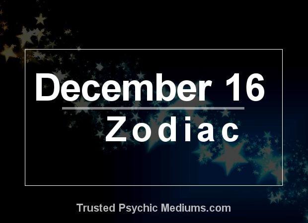 December 16 Zodiac