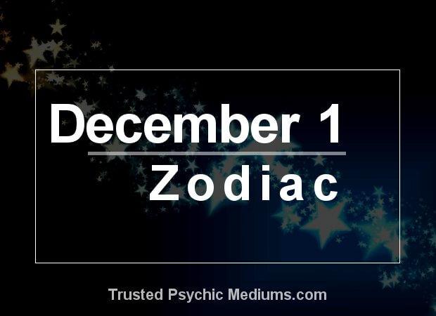 December 1 Zodiac