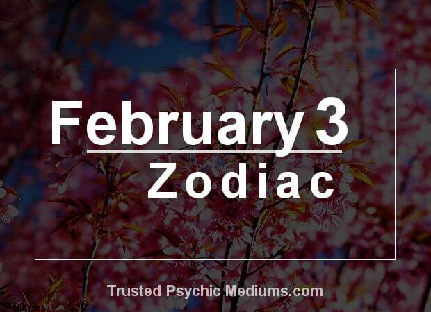 February 3 Zodiac