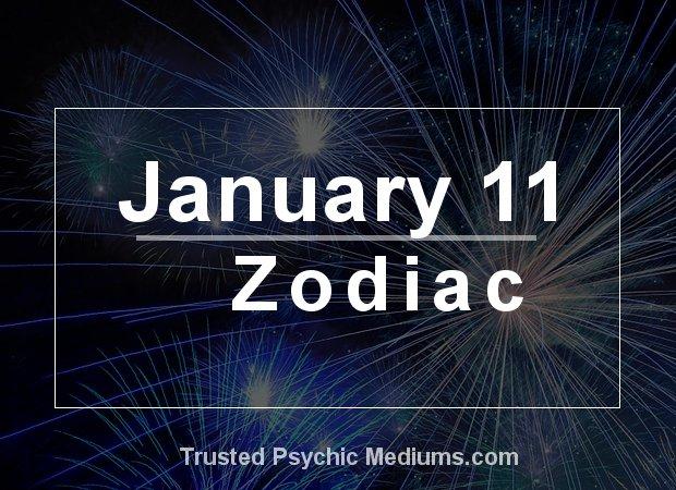 January 11 Zodiac