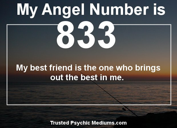 Angel Number 833 and its Meaning
