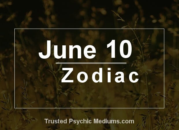 June 10 Zodiac