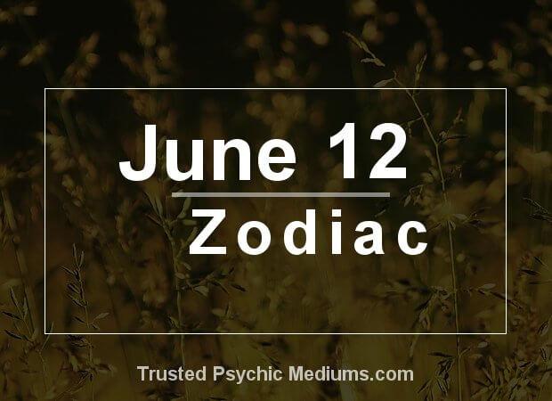 June 12 Zodiac