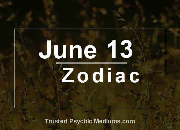 June 13 Zodiac
